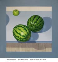 Two melons by Brian Henderson