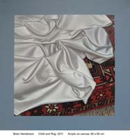 Cloth and rug by Brian Henderson