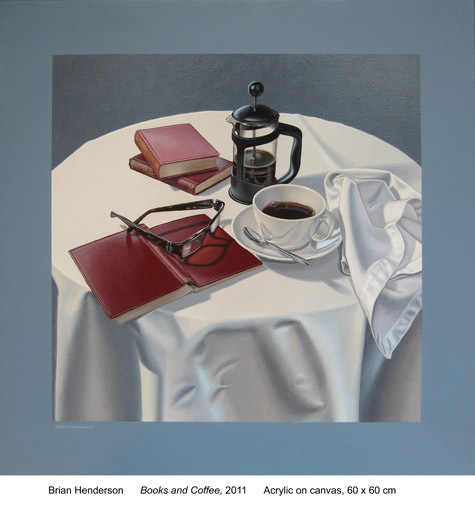 Books and coffee by Brian Henderson