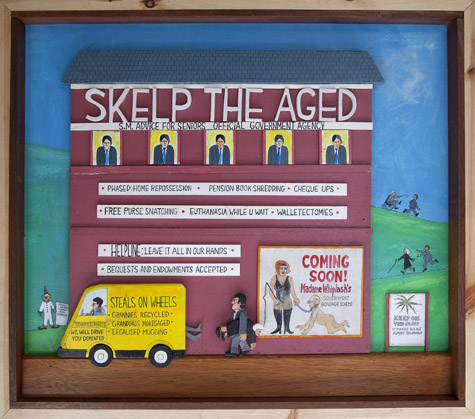 Skelp The Aged by Mike McDonnell