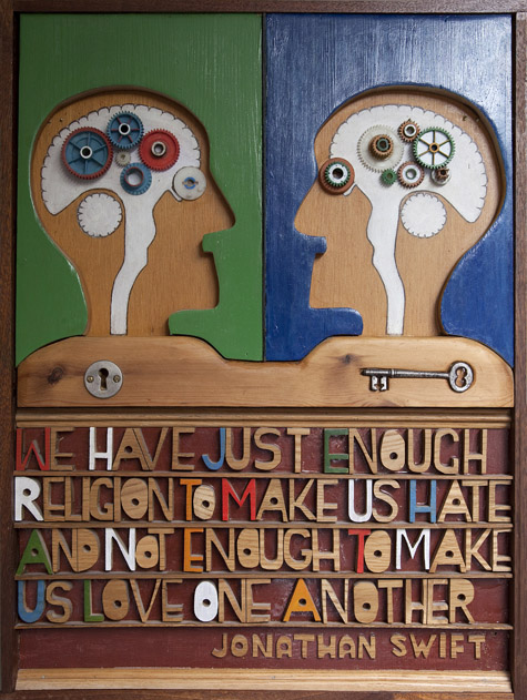 Enough Religion by Mike McDonnell