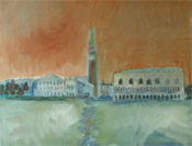 Lesley Burr. Doges Palace, Venice. Click for larger image.